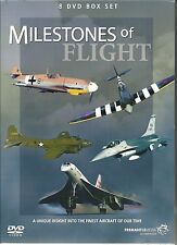 MILESTONES OF FLIGHT - 8 DVD BOX SET - CONCORDE, F-16, B17, SPITFIRE & MORE
