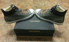 Converse Chuck Taylor All Star Men's Gray Leather Hiker Hi Top - Size 8.5 Men