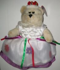HTF Starbucks Bearista Bear 2006 Christmas QUEEN FOREIGN ISSUE - ASIA? w/ TAGS