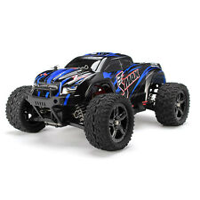 New REMO 1631 1/16 2.4G 4WD Brushed Off-Road Monster Truck SMAX RC Car Blue