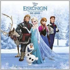 Kinder Eiskönigin Lieder Soundtrack CD Film Musik Frozen Movie Hörspiel Hörbuch