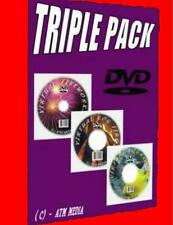 PLASMA/LED/FLAT SCREEN TV VIRTUAL FISH TANK/LOG FIRE &FIRE WORKS 3 RELAXING DVDS