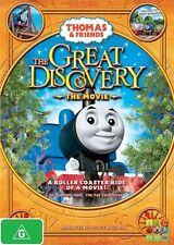 Thomas & Friends - The Great Discovery Movie DVD, R 4, LIKE NEW, Fast Post..2616