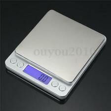 2000G x 0.01G Stainless Steel Jewelry Digital Scale Gold Silver Coin Gram Pocket