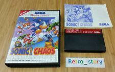SEGA Master System Sonic The Hedgehog Chaos PAL