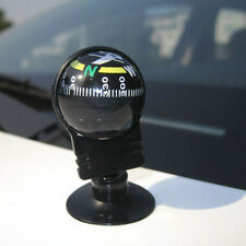 New Car Vehicle Floating Ball Magnetic Navigation Compass Black fo