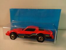 Hot Wheels Red Camaro Z-28 w/ RARE gold ho wheels 1986 MIP