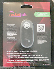 ROCKETFISH REMOTE WIRELESS SHUTTER CONTROL FOR CANON DSLR CAMERAS - RF-RSCWLC12