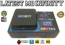 Último Infinity M8S Quad Core Android Smart Mini PC TV Box WiFi