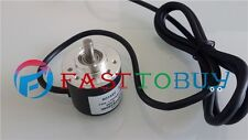 NEW 4 PCS/ lot 200P/R  NPN DC5~24V  AB 2ph Shaft 6mm 5000rpm Incremental Encoder