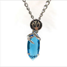 Collar Final Fantasy Crystal Chronicles azul - Joyeria ANIME - ENVIO GRATIS