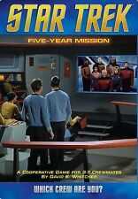 Star Trek Five Year Mission Board Game Mayfair Games MFG 4139 STNG TOS