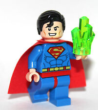 DC SUPEREROI ORIGINALI LEGO SUPERMAN MINI FIGURA DA 10724 CAPE Diamanti