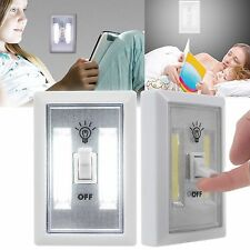 LED Night Light, 200 Lumen COB Emergency lights Switch Cordless Portable