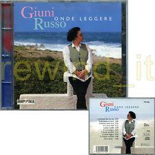 """GIUNI RUSSO """"ONDE LEGGERE"""" RARO CD 1996 - FUORI CATALOGO"""