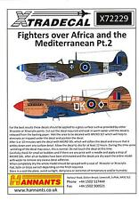 Xtra Decals 1/72 FIGHTERS OVER AFRICA and the MEDITERRANEAN Part 2