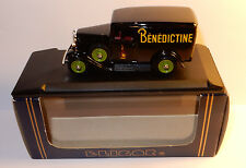 ELIGOR CITROEN CAMIONNETTE 500 KG 1934 BENEDICTINE 1/43 REF1034 IN BOX DARK BLUE
