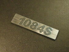 Commodore 1084S Label / Logo / Sticker / Badge 43 x 10 mm [272]