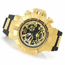 @NEW Invicta 50mm Subaqua Noma III Swiss Made SAN 3 Chronograph Silicone 18526