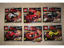 MICHAEL SCHUMACHER LEGO Shell V-Power Ferrari Lego Full Set of 6 NEW Polybag
