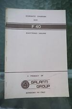 Galanti Group Organ Schematic Diagrams F40