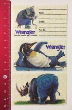 Aufkleber/Sticker: Wrangler Jeans - Adressaufkleber (290416126)