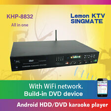 KHP-8832 All in one Android DVD/HDD karaoke player (NO Hard Drive)