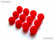 12pcs Small Red Soft Replacement Eartips for Jaybird Freedom and Freedom Sprint