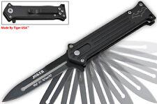 Black JOKER Pocket Knife Spring Assisted Opening Knives Pocket Knife