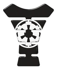 Imperial Logo Star Wars Resin Domed Adhesive BLACK Tank Pad