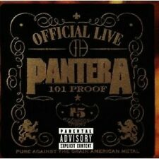 PANTERA - OFFICIAL LIVE CD ROCK 16 TRACKS NEU