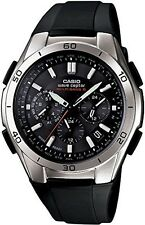 CASIO WAVE CEPTOR WVQ-M410-1AJF Solar Radio Multiband 6Black Men's  WithTracking