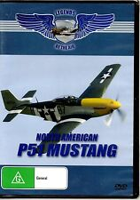 Legends Of The Air - North American P51 Mustang DVD REGION FREE NEW FREE POST