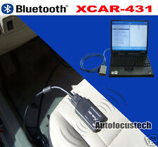 New Bluetooth Xcar 431 X car 431 Scanner Wireless+Wired Version Universal models