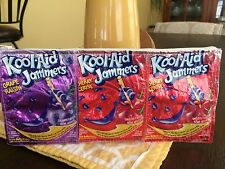 Kool-Aid Jammers Recycled from 6 Pouches Pencil Holder Makeup Zipper Bag 11x5