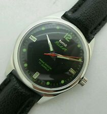 HMT PILOT 17j. HAND WINDING VINTAGE WATCH~BLACK DIAL