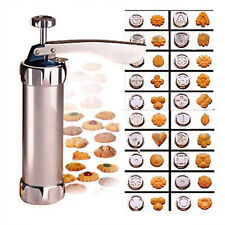 Cookie Biscuit Making Maker Pump Press Machine Decor Gun Kitchen Tools Set New