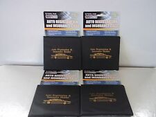 4 Car Truck Registration Insurance Holder Wallet Folder New