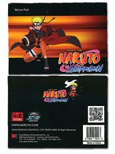 Naruto Shippuden Memo Pad Note Pad Official Licensed GE72026