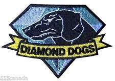 VELCRO Metal Gear Solid Diamond Dogs Logo Patch - Snake Phantom Pain 2 3 4 V
