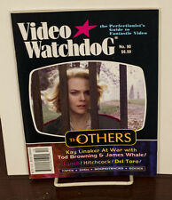 VIDEO WATCHDOG ISSUE #90 THE OTHERS NICHOLE KIDMAN-DEL TORO-HITCHCOCK NM/MINT