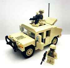 Custom US Army Special Force Rangers Hummer and Minifigures Lego Compatible
