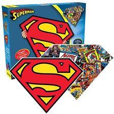 Superman En Forma De 600 Piezas Doble Cara De Rompecabezas (Nm 75017)