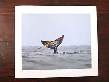 Josh Keyes Collectables - Descent Whale Tale Graffiti Ocean 8 x 10 Giclee Print