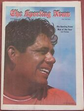 1-8-72 SPORTING NEWS GOLF LEE TREVINO MAN OF THE YEAR