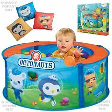 CBeebies Octonauts Pop Up Pelotero / sensorial Play den 3 Libre Bean Bags 12 + mnths