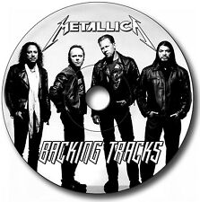 84 x METALLICA STYLE MP3 ROCK GUITAR BACKING JAM TRACKS CD ANTHOLOGY LIBRARY