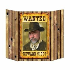 Wild West Wanted Poster Photo Prop - 94 cm - Wild West Cowboy Party Decoration