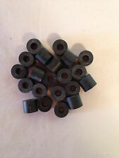 """Rubber Spacers 3/8"""" For Chicago Screws, Holster Sheath Making, 10 Pk, Kydex"""