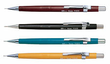 PENTEL P200 SERIES MECHANICAL PENCILS - 0.3mm / 0.5 / 0.7 / 0.9mm - SET OF 4